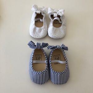 Baby Gap baby girl shoes